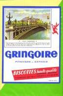 Buvard & Blotting Paper : BISCOTTE GRINGOIRE Haute Qualité 71 Pont Alexandre III - Zwieback