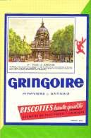 Buvard & Blotting Paper : BISCOTTE GRINGOIRE Haute Qualité 64 Eglise La Sorbonne - Zwieback