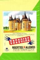 Buvard & Blotting Paper : BISCOTTE GREGOIRE Allégées Chateau De Bonneval - Zwieback