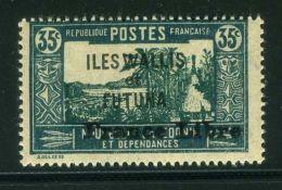 WALIS ET FUTUNAS  (  POSTE  ) : Y&T N°  102  TIMBRE  NEUF  AVEC  TRACE  DE  CHARNIERE , A  VOIR . - Wallis-Et-Futuna