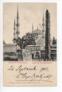 TURQUIE - CONSTANTINOPLE - Mosquée Du Sultan Ahméd 1900... - Turkey