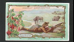 Chocolat Guerin Boutron, ..., AMERIQUE DU NORD, FUCHSIA?chasseur De Bisons - Guerin Boutron