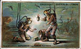 Chocolat Guerin Boutron, ...,scaphandriers A La Lumiere Electrique - Guerin Boutron