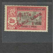 FrenchIndia1942: Yvert212 Mnh** FRANCE LIBRE - India (1892-1954)