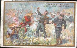 Chocolat Poulain, MORT DU COMMANDANT RIVIERE - Poulain