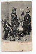 TURQUIE - Salut De CONSTANTINOPLE - Jannissaires 1900... - Turquie