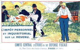 CPA (l Impot Personnel Et Inquisitorial Sur Le Revenu )comité Cental D Etudes Et De Defense Fiscale (b Bur) - Syndicats