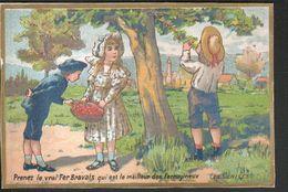LE FER BRAVAIS, LES CERISES - Trade Cards