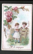 A LA CAMPAGNE, ROSE, BEAUTE - Trade Cards