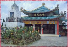 Collection-Singapore (UNC) Old 1981 Chinese Hilltop TEMPLE  Mount FABER, Populatiob 2.5 Million  AMA N° A23 - Cpc - Singapore