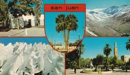 SAN JUAN, MULTI VISTA VIEW VU, EDICOLOR, MACCHI. ARGENTINE -BLEUP - Argentina