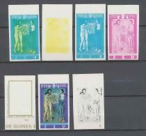 Guinée équatoriale Guinea 291 N°326 Picasso Essai Proof Non Dentelé Imperf Orate Tableau Painting MNH ** - Picasso