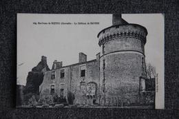 Environs De RUFFEC - Le Château De BAYERS - Ruffec