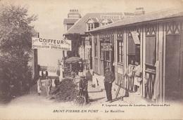 CARTE POSTALE DE SAINT PIERRE EN PORT - France