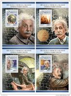 DJIBOUTI 2016 ** Albert Einstein Theory Of  Relativity 4S/S - OFFICIAL ISSUE - DH1726 - Albert Einstein