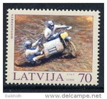 LATVIA 2003 Motorsport MNH / **.  Michel 599 - Latvia