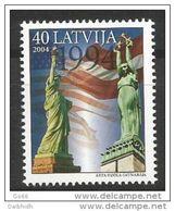 LATVIA 2004 Visit Of President Clinton MNH / **.  Michel 617 - Latvia