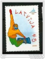 LATVIA 2006  Winter Olympics MNH / **.  Michel 663 - Latvia