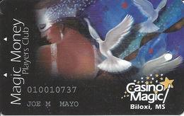 Casino Magic - Biloxi, MS - Slot Card - Casino Cards