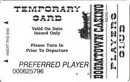 Boomtown Casino - Biloxi, MS - Temp Slot Card - Casino Cards