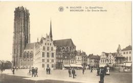 Mechelen Malines 18 - La Grand'Place - De Groote Markt - Cliché F. Walschaerts - Malines