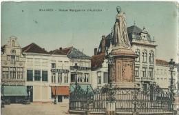 Mechelen Malines - Statue Marguerite D'Autriche - Malines