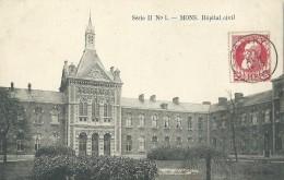 Bergen Mons - Hôpital Civil - Série N° 1 - 1909 - Mons