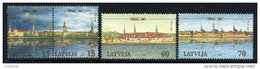 LATVIA 2001 800th Anniversary Of Riga VII Set Of 4 MNH / **.  Michel 545-48 - Latvia