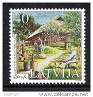 LATVIA 2003 Writer: Edvarts Virza MNH / **.  Michel 589 - Latvia