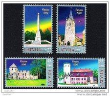 LATVIA 2006 800th Anniversary Of Cesis Set Of 4 MNH / **.  Michel 668-71 - Latvia