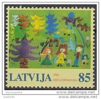 LATVIA 2006 Europa: Integration   MNH / **.  Michel 674 - Latvia