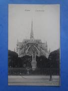 75-PARIS L'archevéché , écrite Au Verso Et Circulée En 1905 , 2 Scans - Eglises