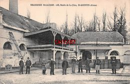 SAINT-QUENTIN (Aisne) BRASSERIE SAINT-LAZARE BIERE-BRASSERIE-COMMERCE-INDUSTRIE-Stempel N° 45 - RARE - TOP  VOIR 2 SCANS - Saint Quentin