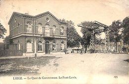 Liège - Le Quai De Coronmeuse. Le Pont-Levis (animée, 1903) - Liege