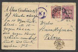 1919.  STATIONARY  CARD.  AUSTRIAN  OCCUPATION  OF  POLAND - Poland