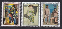 MALI AERIENS N°   46 à 48 ** MNH Neufs Sans Charnière, TB  (D2916) Tableaux, Picasso - Mali (1959-...)