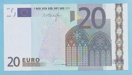 RARE 20 EURO NEDERLAND R030B5 SERIE P38 UNC - EURO