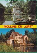 45 - Moulins Du Loiret - Multi-vues - Editeur: Ligneau N°1310 - Francia