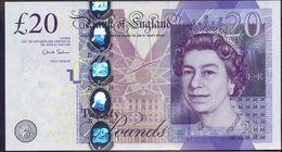 UK Great Britain 20 Pounds 2006 UNC - 1952-… : Elizabeth II