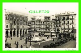 REUS, SPAIN - PLAZA DE PRIM - ED. CASA GRAU - ANIMATED - TRAVEL IN 1950 - - Tarragona