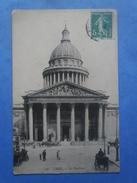 75-PARIS Le Panthéon , Circulée En 1910 - Panthéon