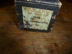 Rouleau Ancien Perforé Pour Piano Mécanique 2889 LA CAMPANELLA , Fr. Liszt -----London-Breitkopf & Rartel..... - Altri Oggetti