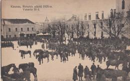 Kaunas - Rotusés Aiksté 1920 M. - Vasario 16 D. - Litauen