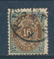 Denemarken/Denmark/Danemark/Dänemark 1875 Mi: 27 IIYB (Gebr/used/obl/o)(2927) - Oblitérés