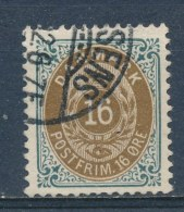 Denemarken/Denmark/Danemark/Dänemark 1875 Mi: 27 IYB (Gebr/used/obl/o)(2928) - Oblitérés