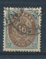 Denemarken/Denmark/Danemark/Dänemark 1875 Mi: 27 IYA (Gebr/used/obl/o)(2933) - Oblitérés