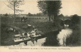 ENVIRONS DE BONFRUIT LE  PONT DE L'YERES LA PASSERELLE  EDITION BRIQUET - France