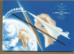 CPM -  Concorde - (F-BVFA) - Une Belle Histoire écrite Par La Main De L'Homme - (avion , Aviation ) -Didier Chemin - Airplanes