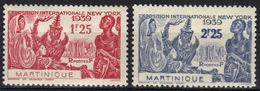 Martinique N° 168, 169 * - Martinica (1886-1947)