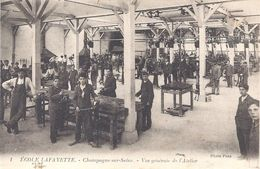 77 - ECOLE LAFAYETTE - 1 - CHAMPAGNE Sur Seine - Vue Générale De L'Atelier - Photo Pons - Ecoles